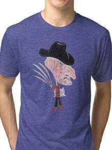 Horror Movie Caricature Tri-blend T-Shirt