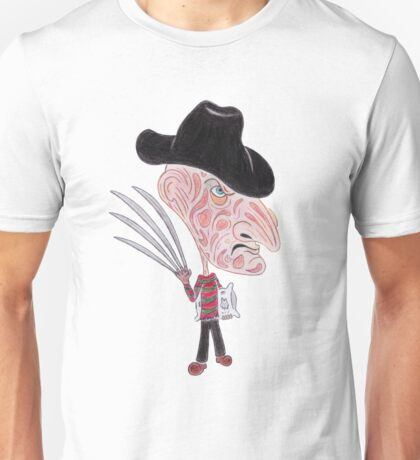 Horror Movie Caricature Unisex T-Shirt