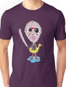 Horror Movie Killer Caricature Unisex T-Shirt