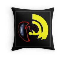 ...Distortions... Throw Pillow