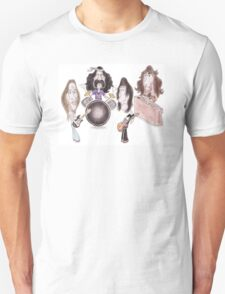 Psychedelic Progressive Rock Band 60's 70's Caricature T-Shirt