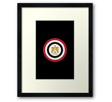Captain Egypt Framed Print