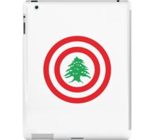 Captain Lebanon iPad Case/Skin