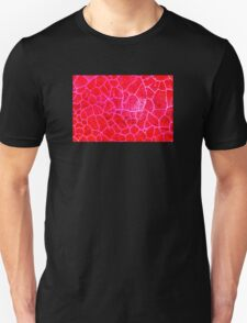 Red Dragon Vein Agate Pattern T-Shirt