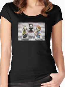 Horror Game Women's Fitted Scoop T-Shirt