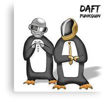 Daft Punkguin Canvas Print