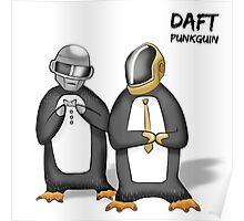 Daft Punkguin Poster