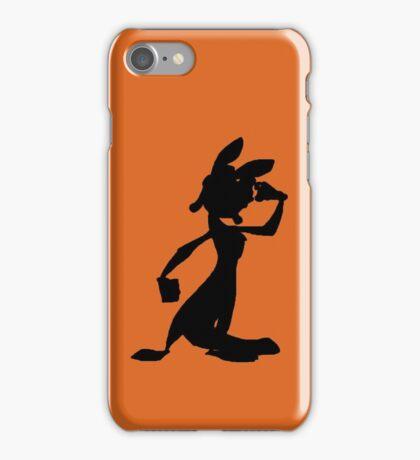 Daxter Silhouette - Black iPhone Case/Skin