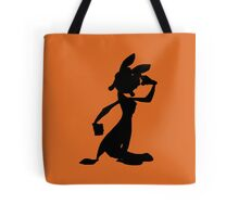 Daxter Silhouette - Black Tote Bag