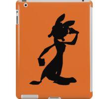 Daxter Silhouette - Black iPad Case/Skin