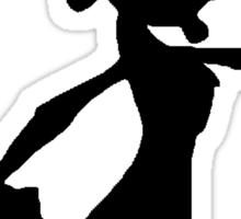 Daxter Silhouette - Black Sticker