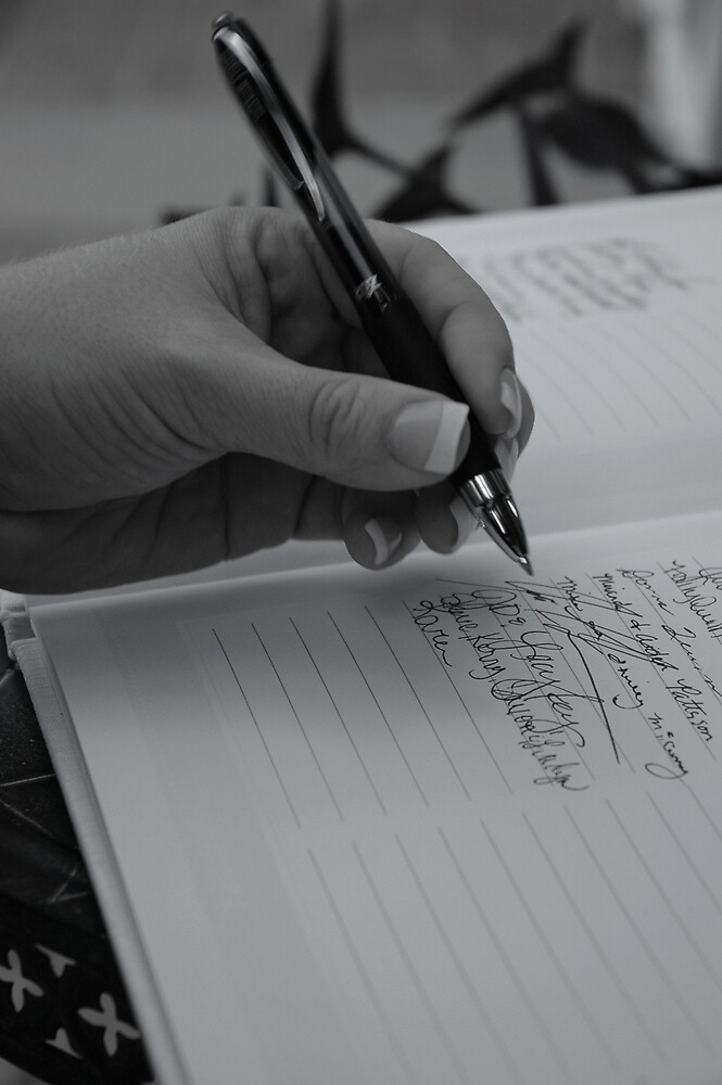 guest book by expressions