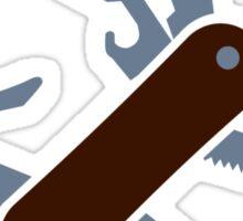 Army knife Sticker