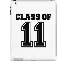 Class of 2011 iPad Case/Skin