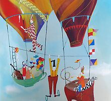 Whimsical Circus by George Alloc