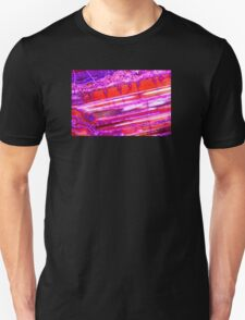 Red Purple Dragon Vein Agate Pattern T-Shirt
