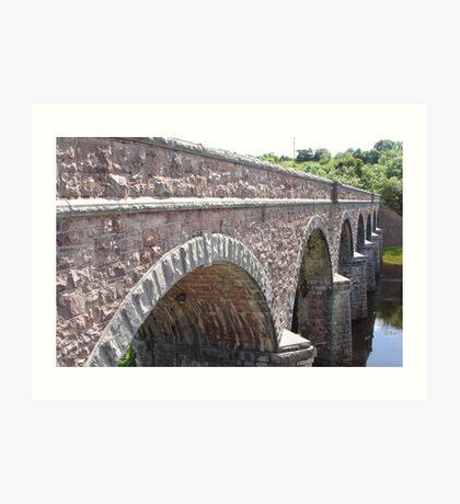 Newport Bridge. Art Print