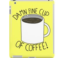 Damn Fine Cup Of Coffee - Twin Peaks iPad Case/Skin