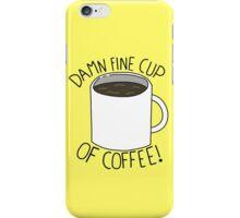 Damn Fine Cup Of Coffee - Twin Peaks iPhone Case/Skin