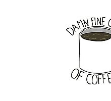 Damn Fine Cup Of Coffee - Twin Peaks by TurtlesSoup