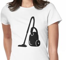 Vacuum cleaner Womens Fitted T-Shirt