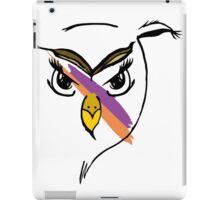 Warpaint Owl iPad Case/Skin