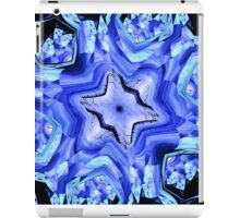 Blue Snow Flake iPad Case/Skin