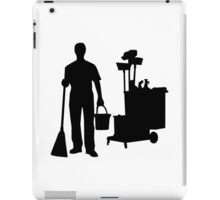 Cleaning service iPad Case/Skin