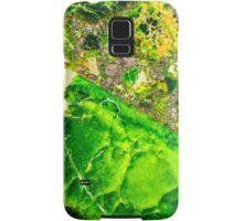 Green Sea Sediment Agate Pattern Samsung Galaxy Case/Skin
