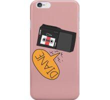 Diane - Twin Peaks Dale Cooper Quote iPhone Case/Skin