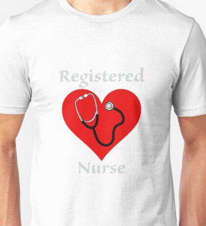 Registered Nurse Tshirt Surgery Hospital Medical Profession Unisex T-Shirt