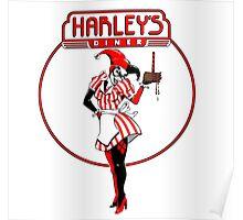 Eat at harleys  Poster