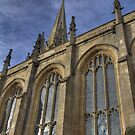 Church of St Mary the Virgin , Oxford, England by Rich Fletcher