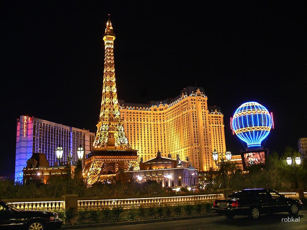 Vegas Lights ! by robkal