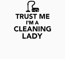 Trust me I'm a cleaning lady Womens Fitted T-Shirt