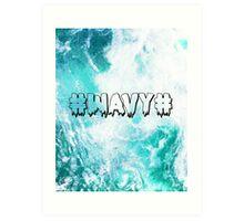#WAVY# Art Print