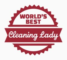 World's best cleaning lady Kids Tee