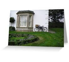 English Country Side Greeting Card