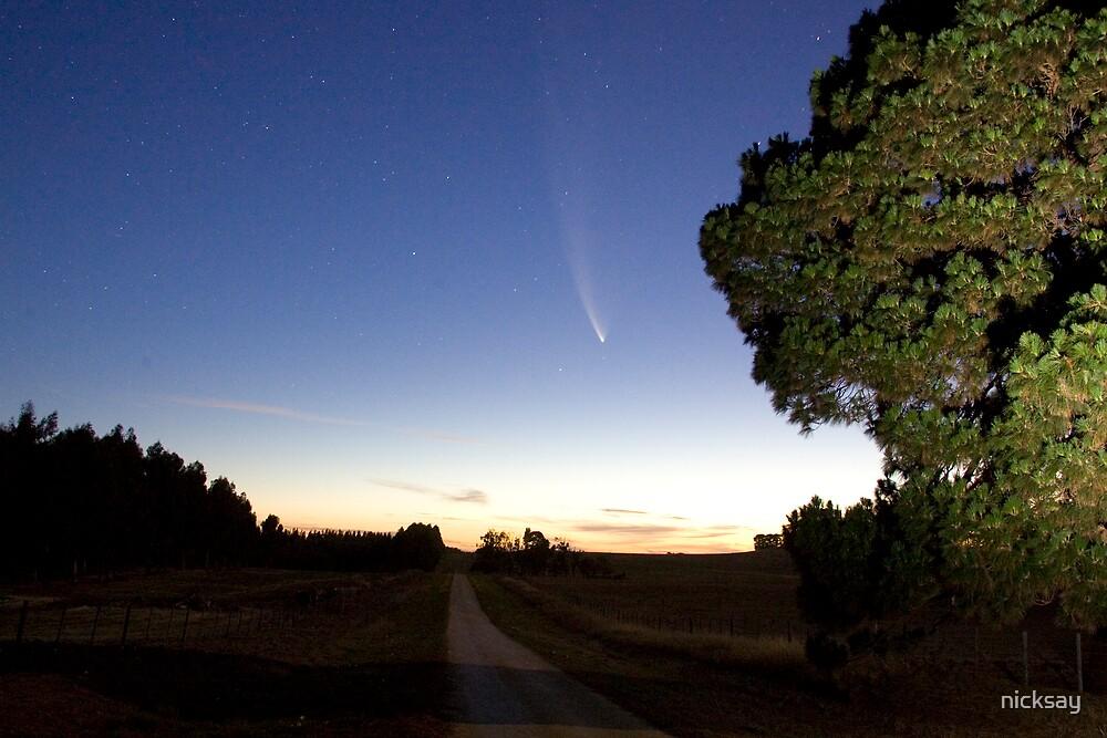 Comet by nicksay