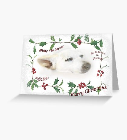Little Tinker Has Christmas Dreams ~ Greeting Card Greeting Card