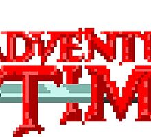 Adventure Time Title by taguzga