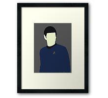Spock Framed Print