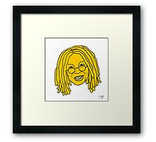 Whoopi Cushion - Yellow Framed Print