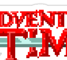 Adventure Time Title Sticker