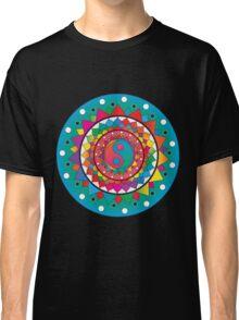 Psychedelic Ying Yang Mandala Classic T-Shirt
