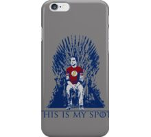 The Iron Throne Paradox iPhone Case/Skin