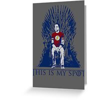 The Iron Throne Paradox Greeting Card