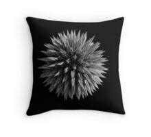 Globe Thistle Throw Pillow
