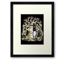 Wasteland Time Framed Print