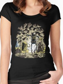 Wasteland Time Women's Fitted Scoop T-Shirt